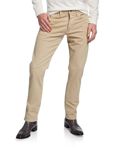 Men's Straight-Fit Denim Jeans
