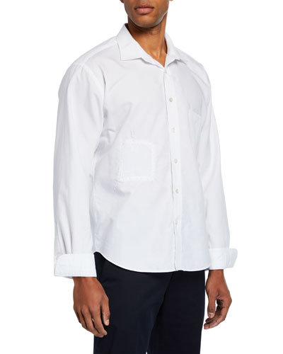 Men's The Double Patched Sport Shirt