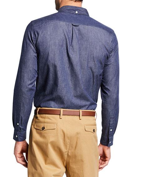 Men's Denim Chambray Sport Shirt
