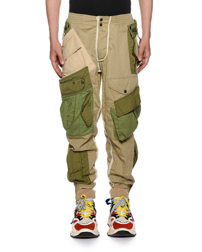 Men's Multi-Pocket Combat Cargo Pants