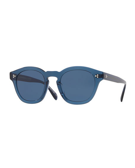 4db9187b15 Oliver Peoples Men's Boudreau LA 58 Acetate Sunglasses