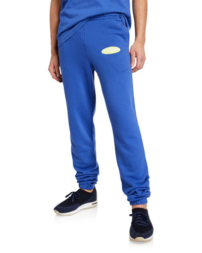 Men's Split Logo Slim Sweatpants