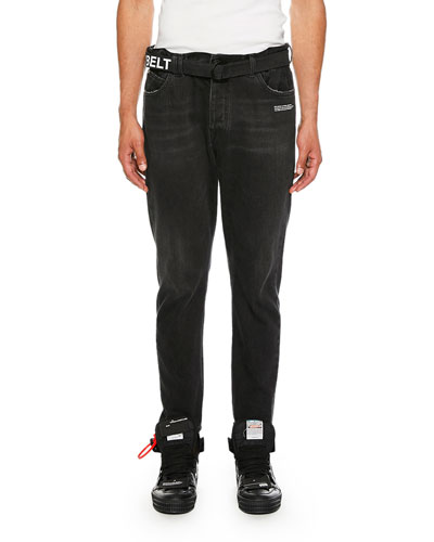 Men's Slim Low-Crotch Pants