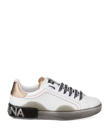 Men's Melt Low-Top Leather Sneakers