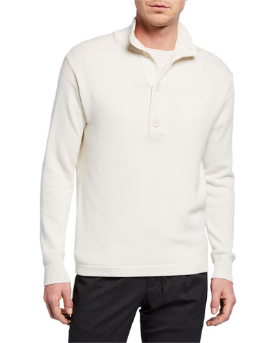 Men's Springville Quarter-Placket Sweater