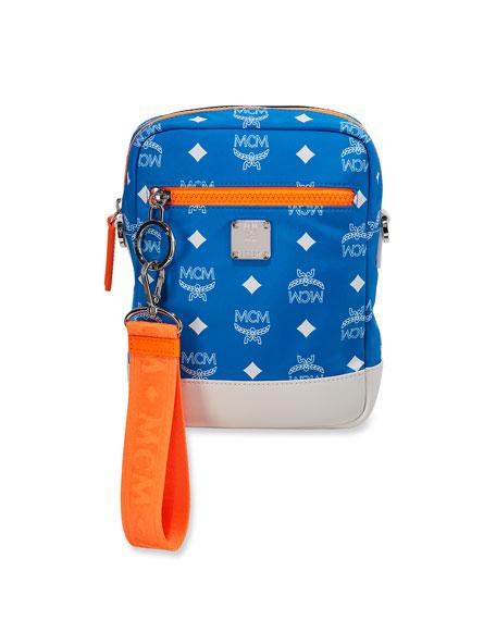 64e534973fb MCM Resnick Logo Nylon Crossbody Bag