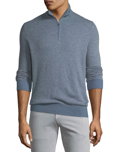 Roadster 1/4-Zip Cashmere Sweater