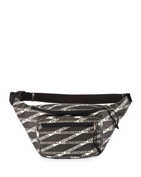 Balenciaga Men's Monogram Explorer Belt Bag