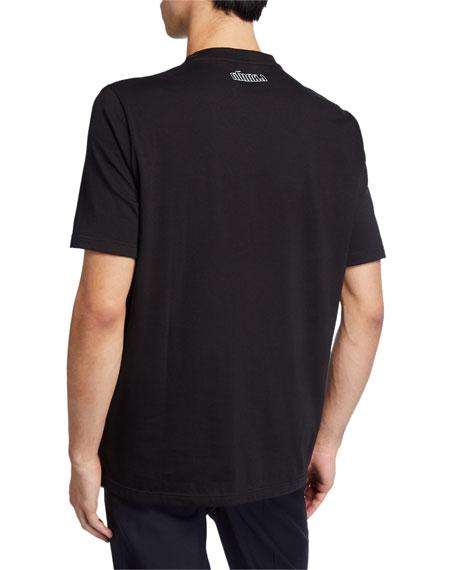 Men's Silent Graphic T-Shirt