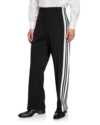 Men's Tuxedo Snap Joggers