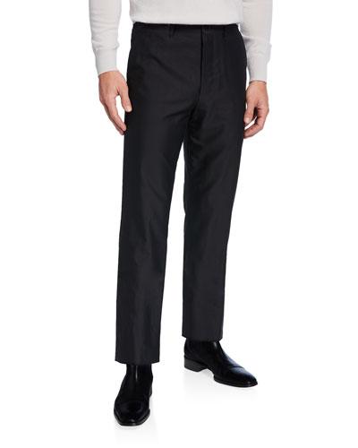 Men's Hunter Tapered Twill Pants  Black