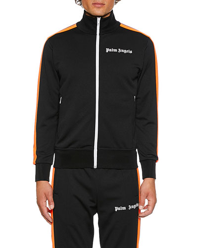 Men's Track Jacket with Stripes