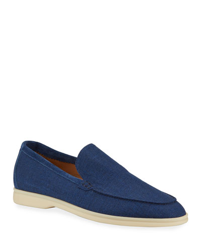 Men's Summer Walk Linen Loafers