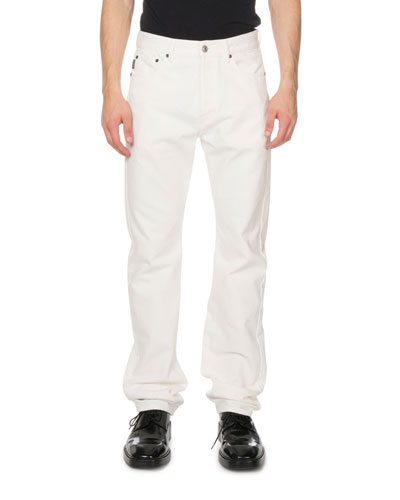 Men's Standard Fit Jeans  White