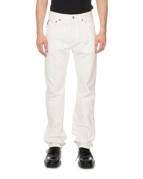 Men's Standard Fit Jeans, White