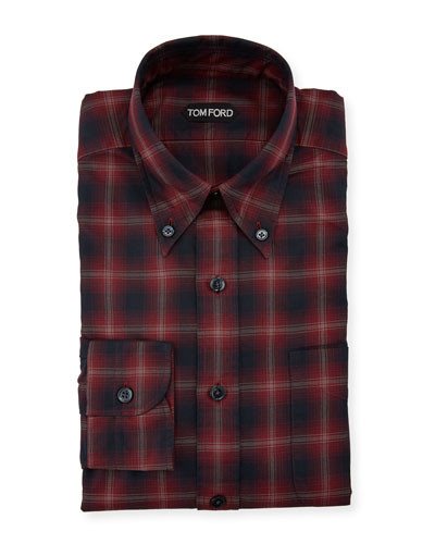 Men's Degrade Sport Check Dress Shirt