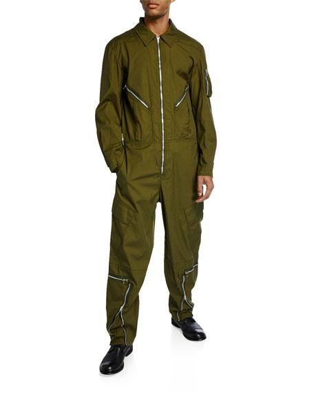 Men's Cotton Twill Aviator Suit