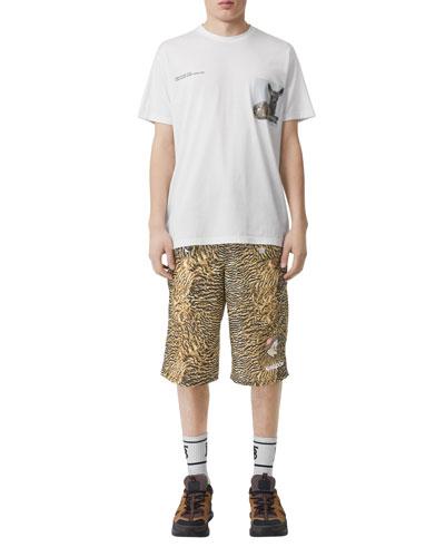 Men's Graphic Crewneck T-Shirt