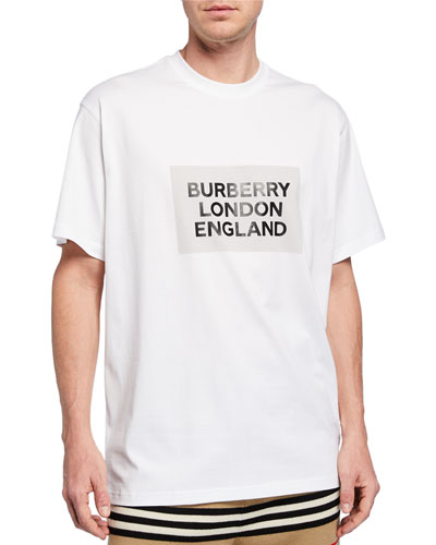 Men's Oversize London England Logo T-Shirt