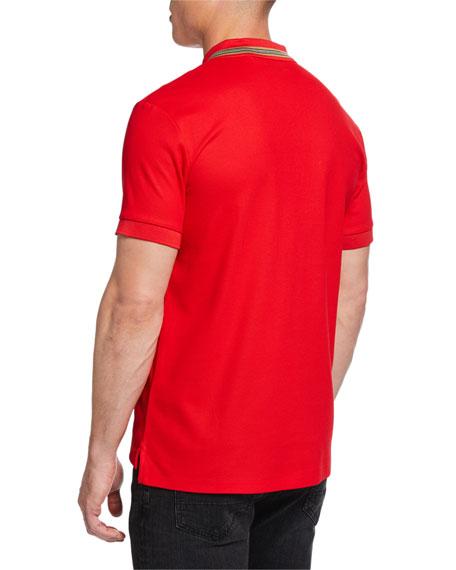 Johnston Signature-Trim Polo Shirt