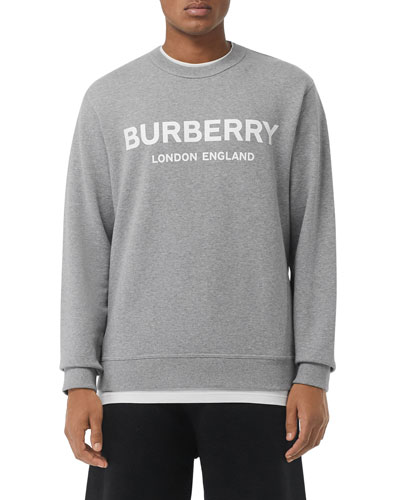 Men's Lanslow Logo Graphic Cotton Sweatshirt