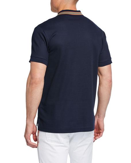 Men's Johnston Signature-Trim Polo Shirt