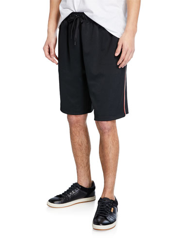 Men's Adrian Drawcord Side-Stripe Shorts