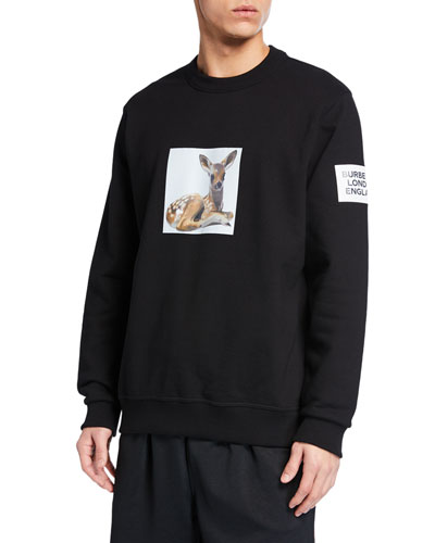 Men's Fairhall Fawn Graphic Sweatshirt