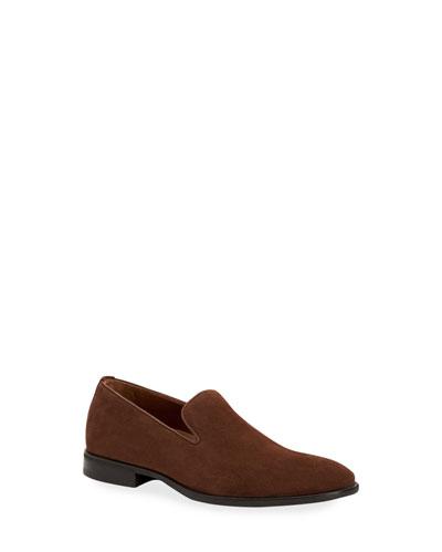 Men's Aiden Suede Slip-On Loafers