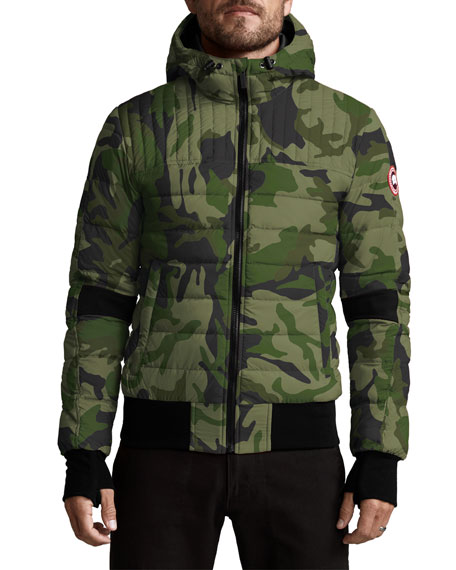 Canada Goose Jackets MEN'S CABRI QUILTED HOODIE JACKET