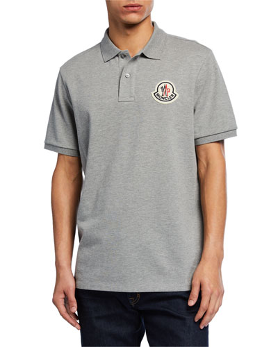 Men's Logo-Applique Polo Shirt