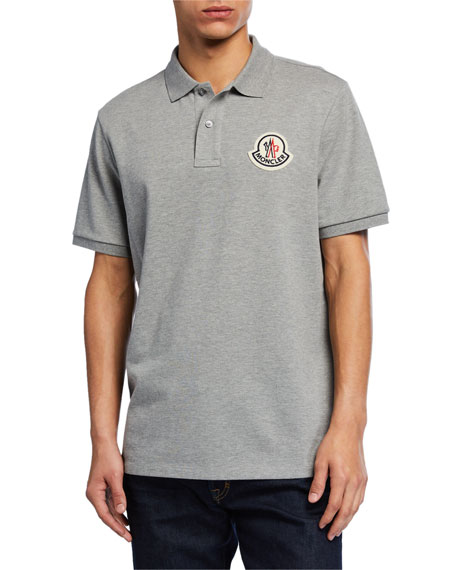 Moncler Genius Men's Logo-Applique Polo Shirt