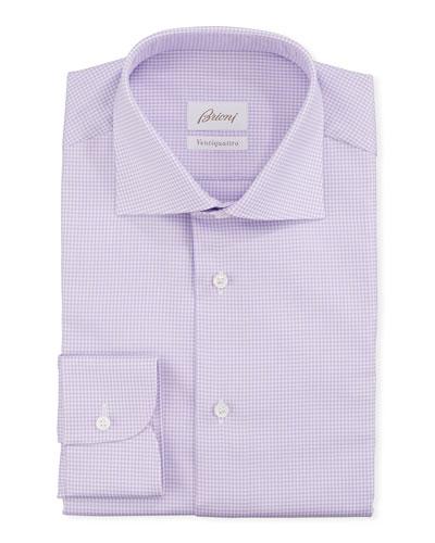 ed42856f1a59 Men s Ventiquattro Check Dress Shirt Quick Look. Brioni