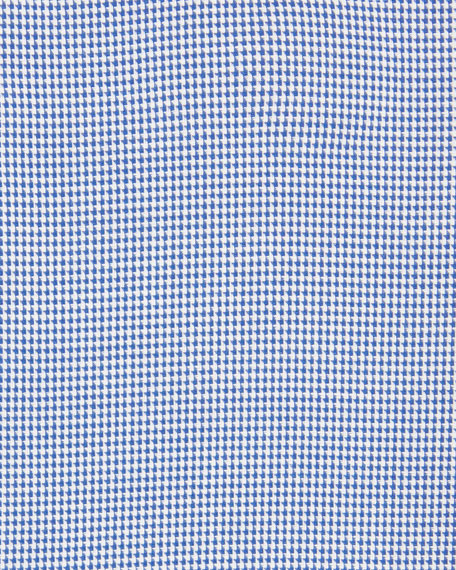 Men's Houndstooth Check Dress Shirt