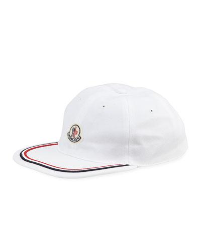 Men's Contrast-Border Baseball Cap