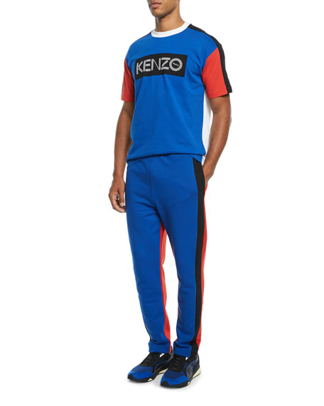 Men's Colorblock Jogger Pants