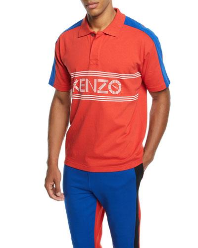 Men's E Skate Colorblock Polo Shirt