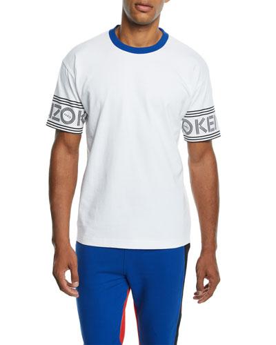 Men's E Sport Logo-Trim T-Shirt