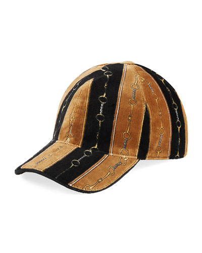 Men's Printed Chenille Baseball Hat
