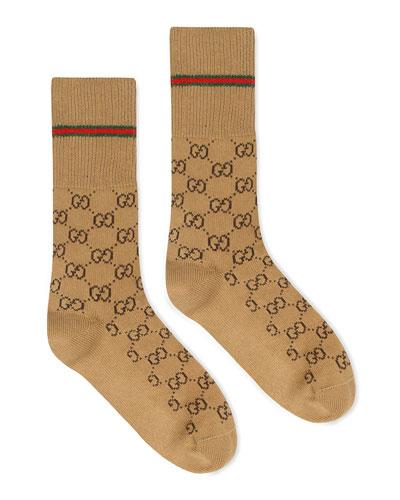 Men's GG Socks with Web Trim