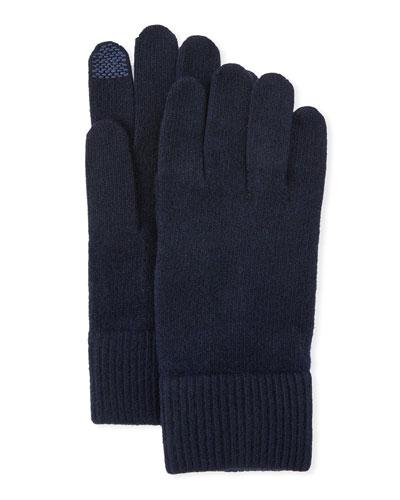 b7030b41a27 Cashmere Touchscreen Gloves