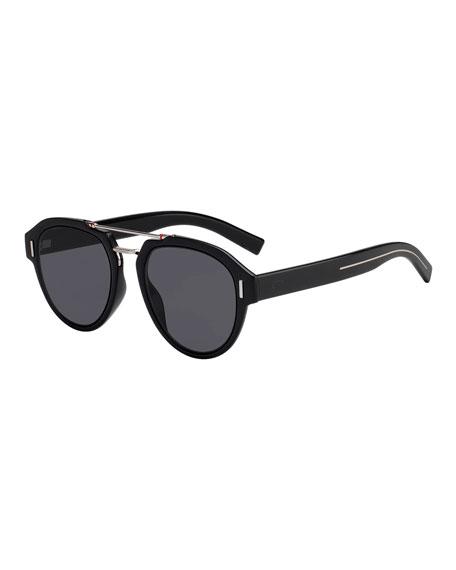 8c229f54b8bb9 Dior Men s Fraction 5 Round Pilot Sunglasses