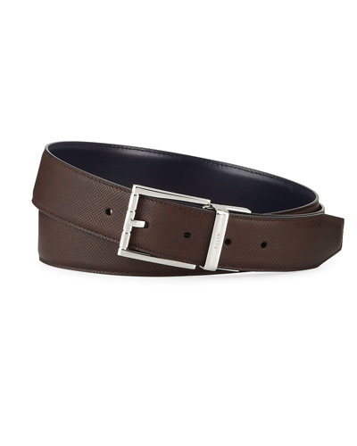 46576d6d8ee0 Men s Belts   Leather   Canvas at Bergdorf Goodman