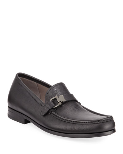 Men's Adam Leather Gancio Loafers