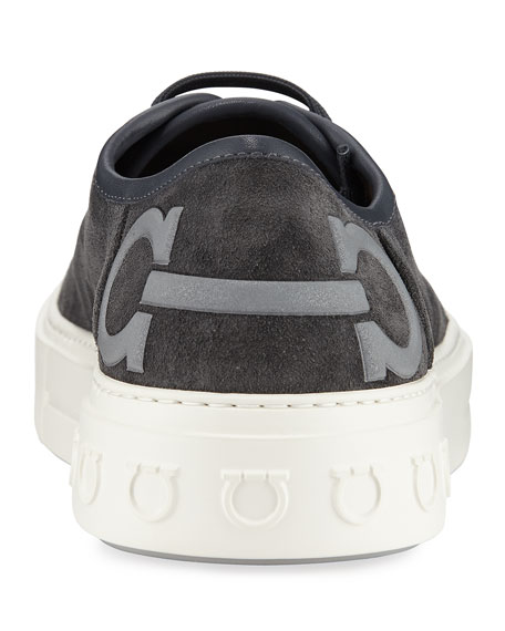 Men's Truman Suede Low-Top Sneakers
