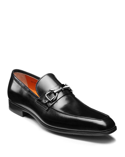 Men's Ivo Leather Loafers  Black