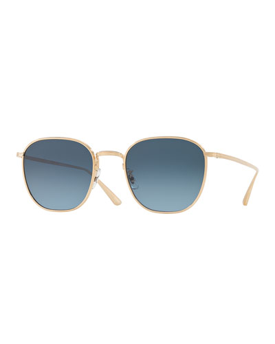0007c69fc64 Promotion Men s Board Meeting 2 Square Gradient Titanium Sunglasses Quick  Look. Oliver Peoples The Row