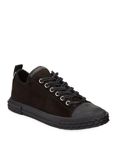 Men's Blabber Low-Top Suede Sneakers