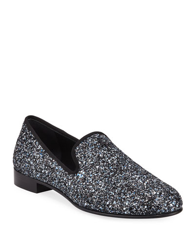 5c5cce931022 Men s Kevin Glittered Slip-On Evening Shoes Quick Look. Giuseppe Zanotti