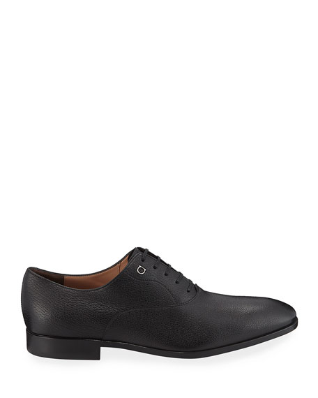 Men's Toulouse Pebbled Leather Oxford Dress Shoe